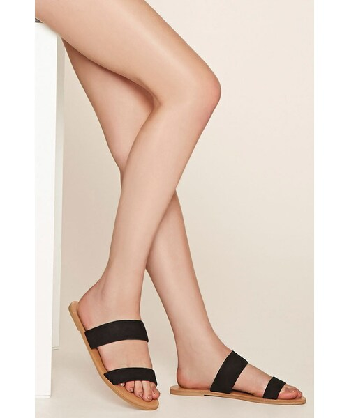 Forever 21,FOREVER 21 wide-fit faux