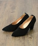 actuel | 【W&M】SUEDE PUMPS(パンプス)