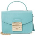 Furla | Furla Metropolis Top Handle Mini Cross Body Bag(クラッチバッグ)