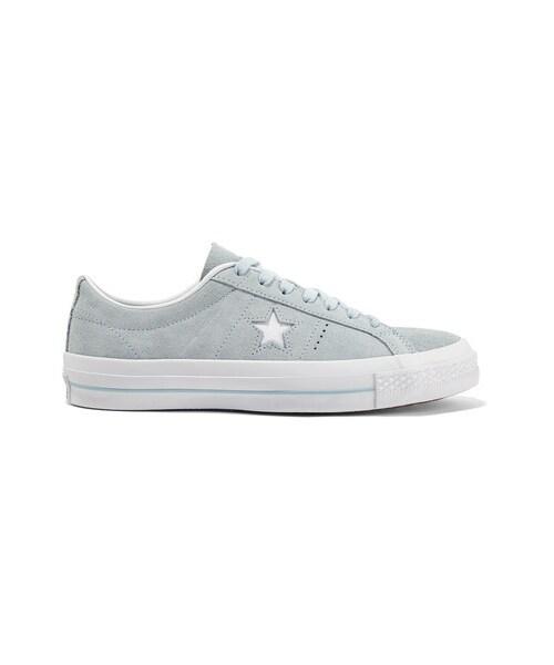 Star Suede Sneakers - Sky blue