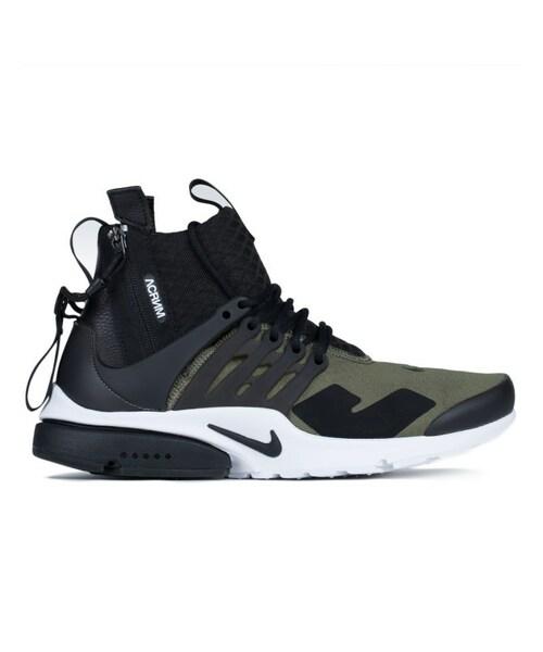 ACRONYM x Nike Air Presto Mid 'Olive