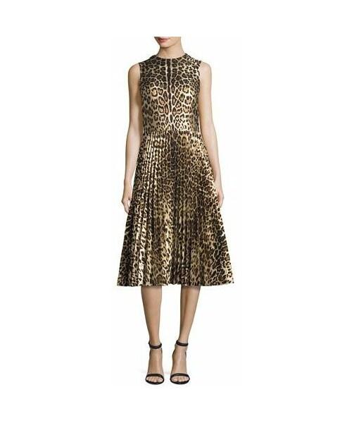valentino leopard dress