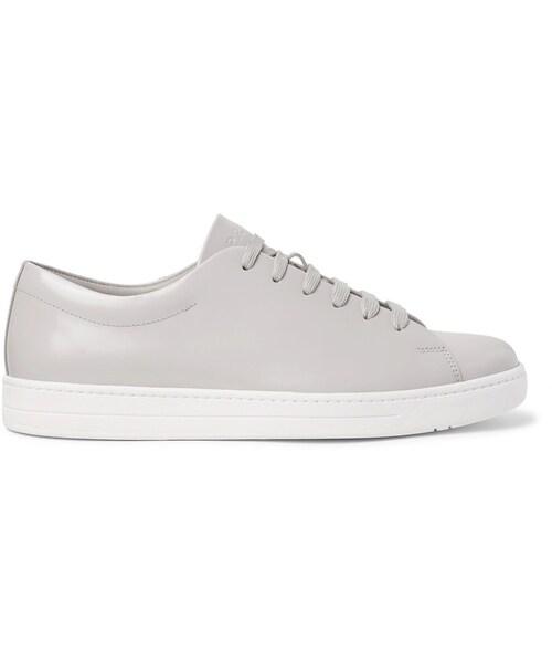 Prada Spazzolato Leather Sneakers