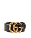 Gucci | GUCCI GG leather belt(Belt)