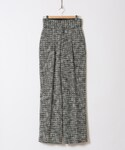 holiday | TWEED WIDE SLACKS()