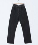 holiday | HIGH WAIST WIDE DENIM PANTS()