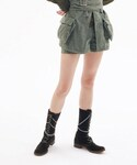 holiday | MILITARY BICOLOR SHORT PANTS()