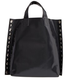 3f9f17e42b99 Comme des Garcons(コムデギャルソン)の「Tricot Comme Des Garcons Studded Faux Leather  Tote
