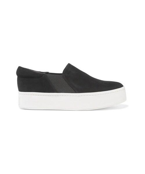 Warren Suede Slip-on Sneakers