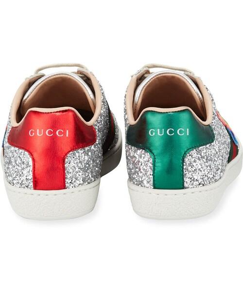 Gucci,Gucci Ace Saturn Glitter Low-Top