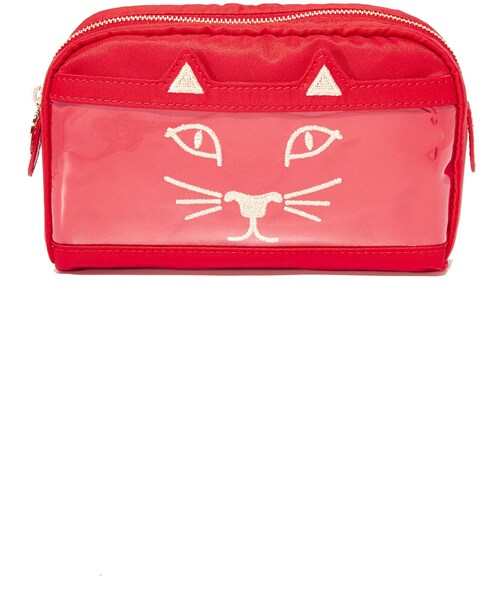 CHARLOTTE OLYMPIA POUCH//MAKE UP BAG