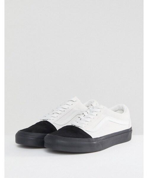 Vans,Vans Old Skool Unisex Sneakers In Color Block Suede - WEAR