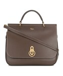 "Mulberry Tote ""Mulberry - Amberley ハンドバッグ - women - カーフレザー - ワンサイズ"""