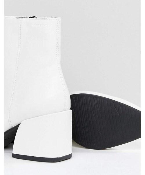 Vagabond,Vagabond Olivia White Leather