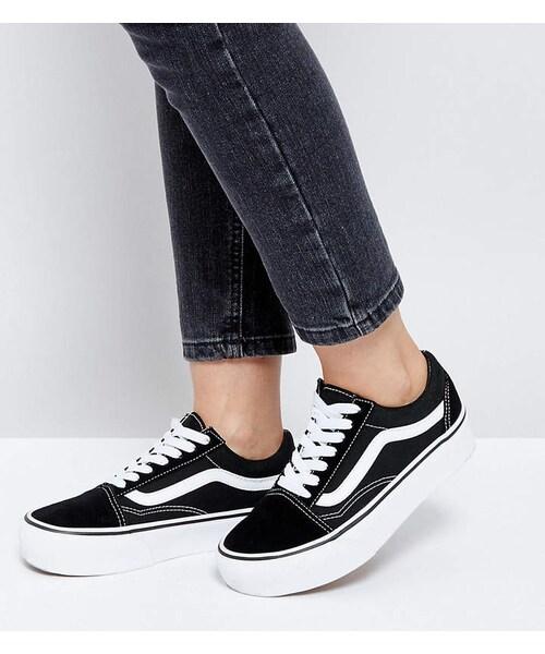 Vans Old Skool Platform Sneakers In