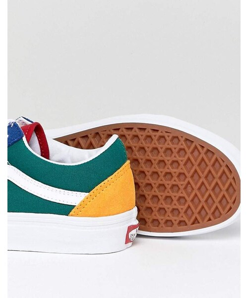 Vans,Vans Old Skool Sneaker In Primary