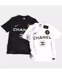 ddca8783f8f9 CHANEL(シャネル)の「シャネル トップス Tシャツ 半袖 ima-187(T