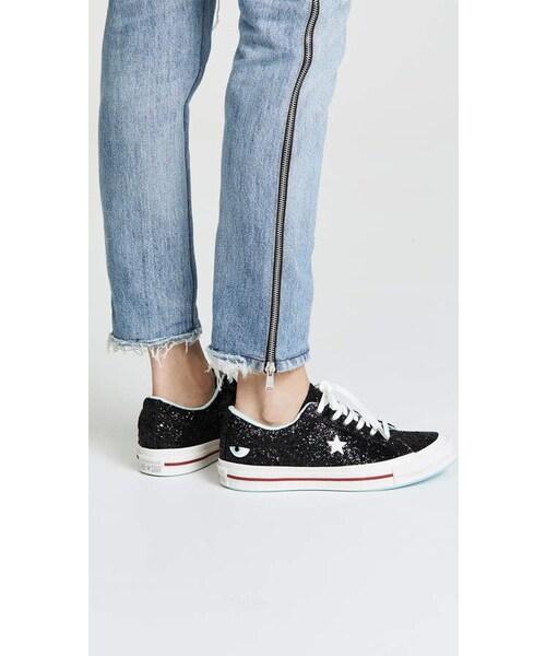 x Chiara Ferragni Lace Up Sneakers - WEAR