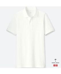 ユニクロのオフィスカジュアルアイテム3:エアリズムポロシャツ(半袖)