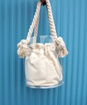 LAULEN | CLEAR MARINE BAG(ハンドバッグ)
