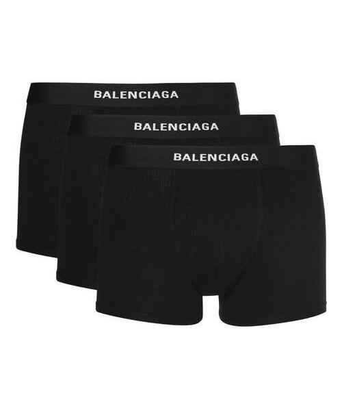 Balenciaga Three-Pack Stretch-Jersey