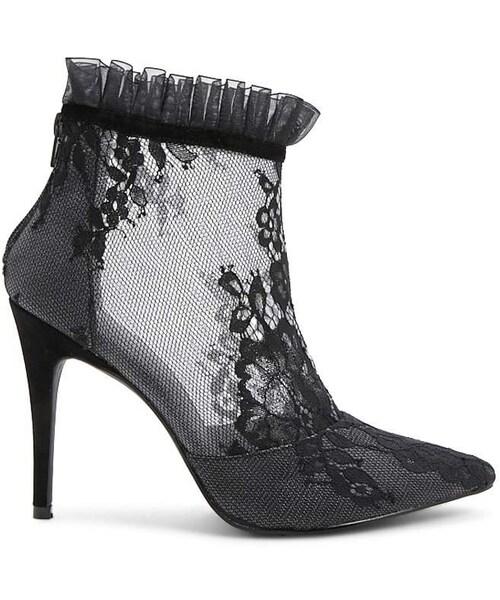 Shoe Republic Lace Booties - WEAR