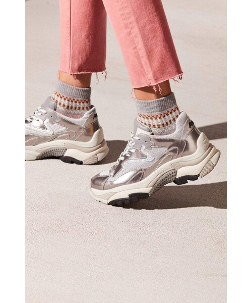 Ash(アッシュ)の「Ash Silver Miles Sneaker