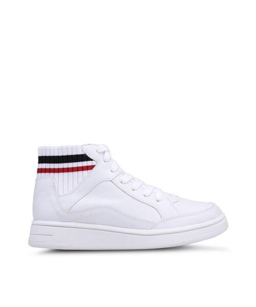 Mango,Sock High Top Sneakers WEAR