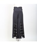 Crayme, | Belt Tulle Wide Pants(パンツ)