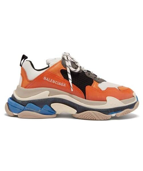 Triple S Low Top Trainers