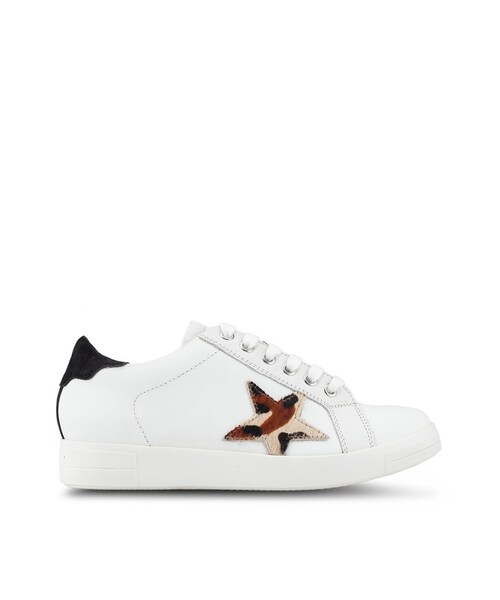 Dune London,Edris Star Lace Up Trainers