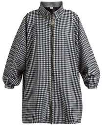 details for select for original classic shoes Vetements(ヴェトモン)の「Vetements - Gingham Zip Up Pea ...