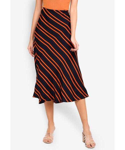 woven belle bias midi skirt Cotton On,Woven Belle Bias Midi Skirt - WEAR