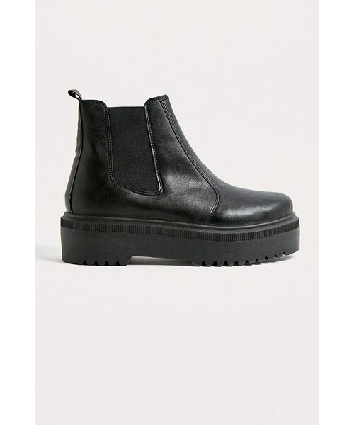 UO Brody Black Faux Leather