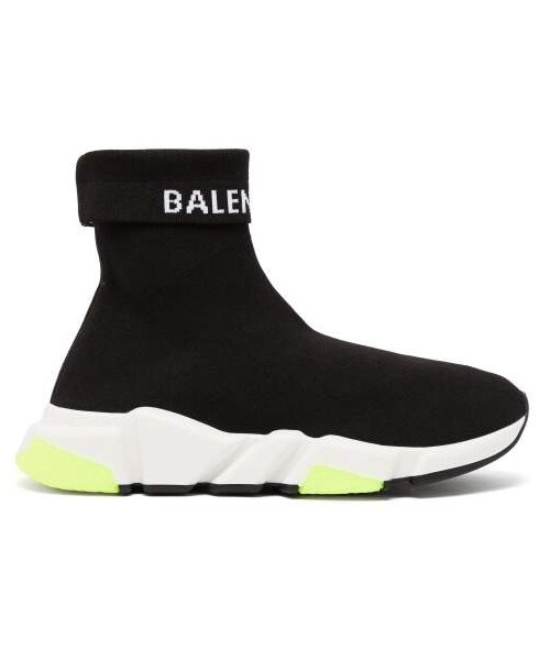 Speed High Top Sock Trainers