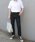 LAULEN | HW Tapered Denim(デニムパンツ)