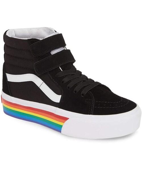 Vans Sk8-Hi V Rainbow Platform Sneaker