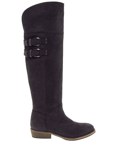 Bronx Over the Knee Flat Riding Boots