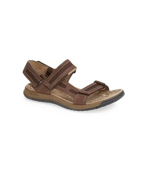 Mens Merrell Strapped Sandals /'Traveler Tilt Convertible/'