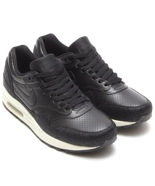 air max 1 leather black
