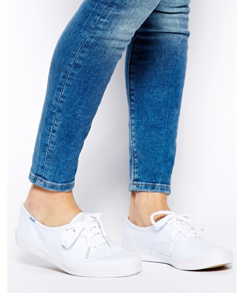 Champion Canvas White Plimsoll Shoes