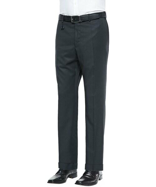 Incotex Dark Gray Melange Pants Slim