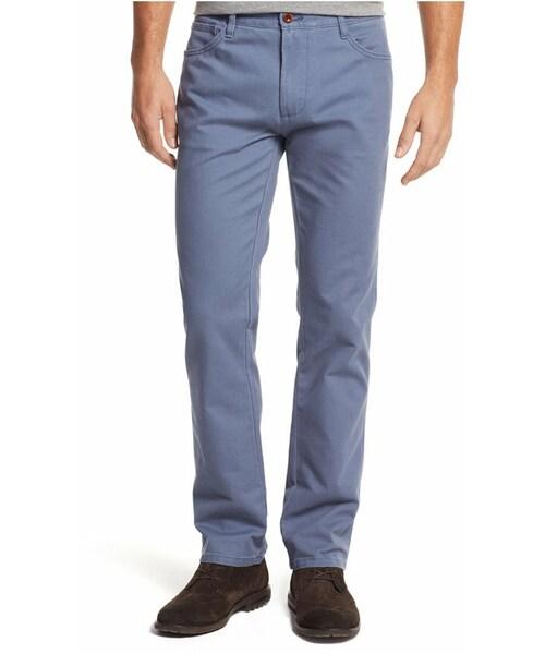 Tommy Hilfiger Mens Custom Fit Mickey Bedford Corduroy Pants