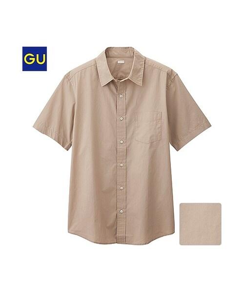 シャツ gu