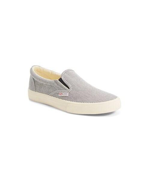 Superga 'Cotu' Stripe Slip-On Sneaker