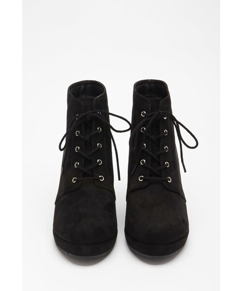 Forever 21,FOREVER 21 Faux Suede Lace