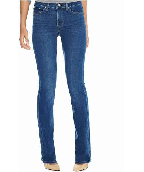 315 Shaping Bootcut Jeans, Indigo Tide